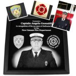 Firefighter Awards - Framed plaques Firefighter Awards