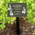 Memorial Plaque - with Metal Stake Memorial Plaques