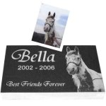 Pet Grave Markers 4 Inch Granite Pet Grave Markers