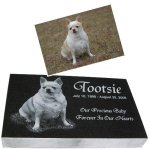 Pet Grave Markers 2 Inch Granite Pet Grave Markers