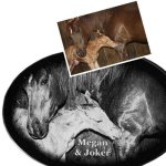 Pet Memorial Plaques - Oval Pet Memorial Plaques